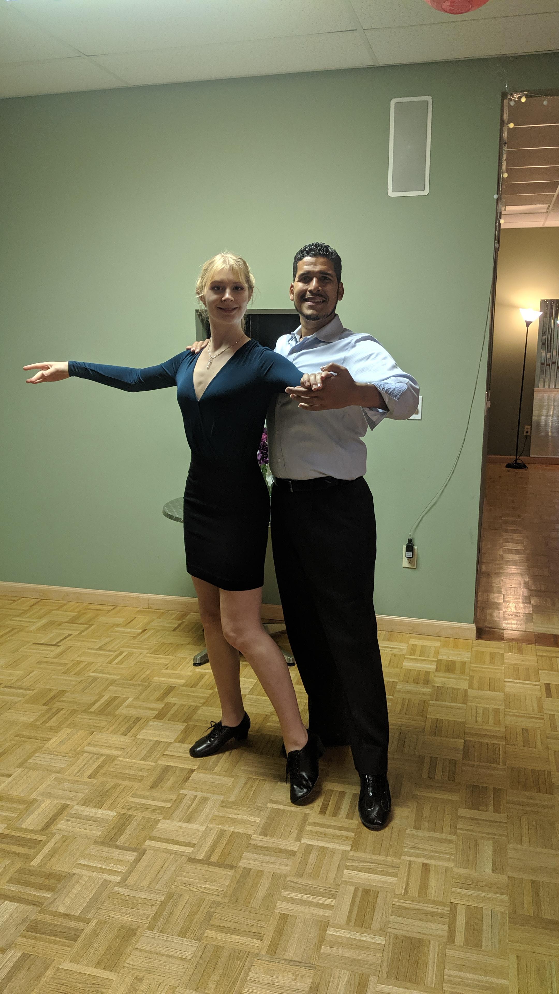 ballroom dance pose